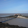 The view west from Worlebury - North Pier with Steep Holm in the distance
