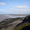 Our walk to Worle - the view north to Sandy Bay