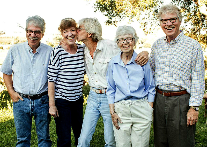Mom's 90th, 2014.