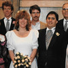 Becky's wedding, 1990?
