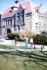 On the Brown campus, November, 1979.<br /> Wilson Hall.