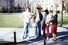 On the Brown campus, November, 1979.<br /> David Munson on the left.