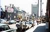On the Brown campus, November, 1979.<br /> Thayer Street.