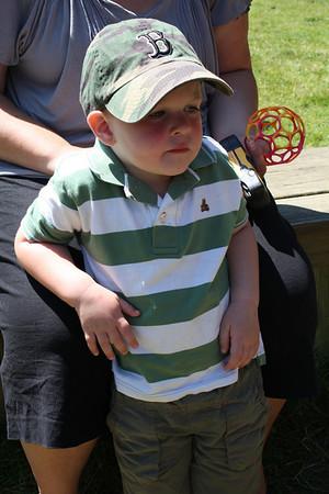 Brown Boy's Third Birthday