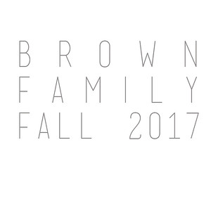 Brown Family Fall 2017