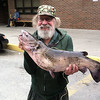 Bruce with his big catfish