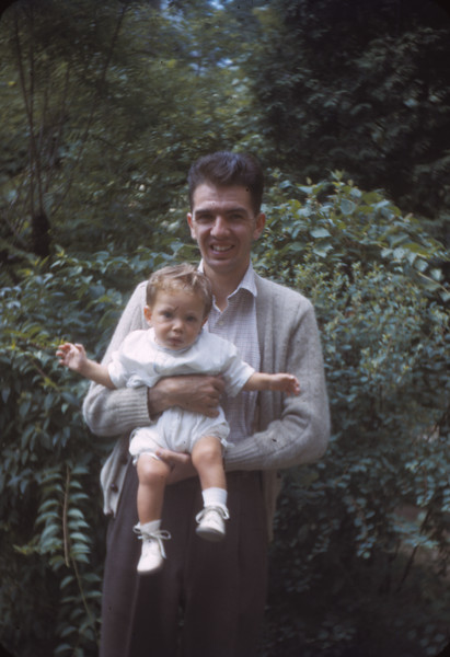 John Dudley with Bruce 1943