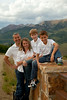 Laura and Andy Bruch family from Chicago, IL during a family photo sitting in Crested Butte, Colorado on Tuesday, July 31, 2012. (Photo/Nathan Bilow)