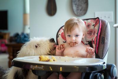 Boddy likes Sawyer's cupcake.
