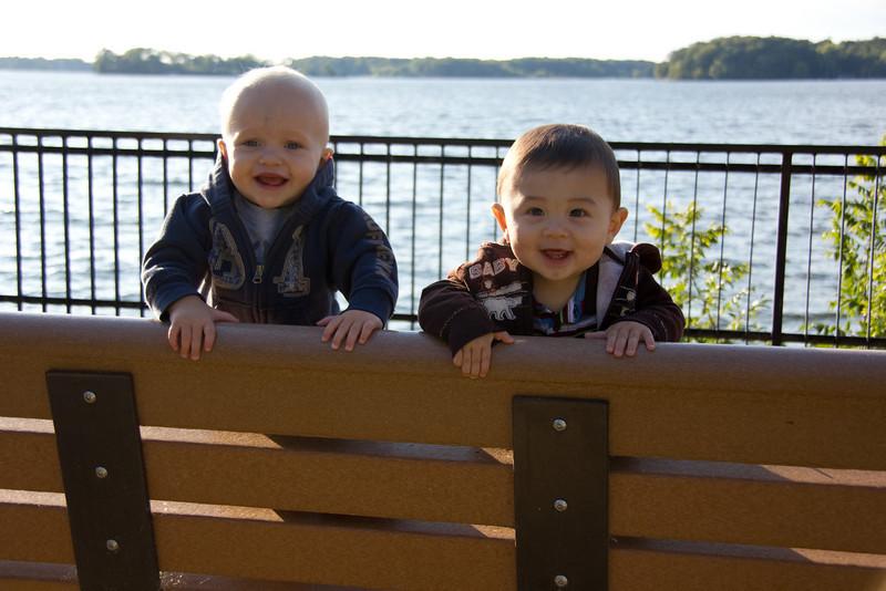 Gavin and Bryce