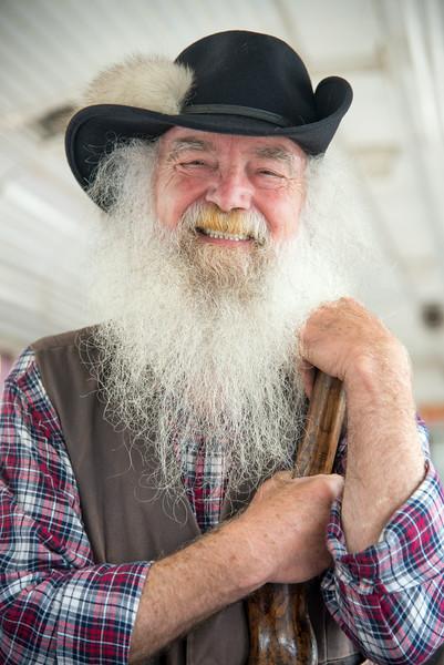 Mountain Man story teller