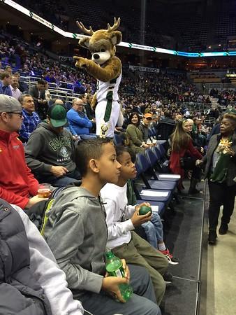 Bucks Game February 2017