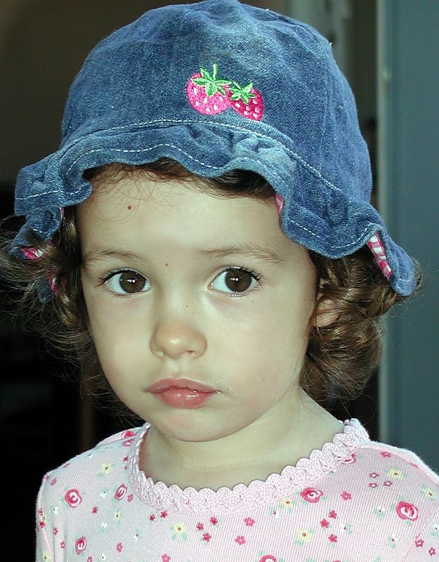 Sophia at age two