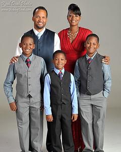 Burr Family Portraits