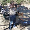 Mark shooting WWII's .22 sniper rifle.