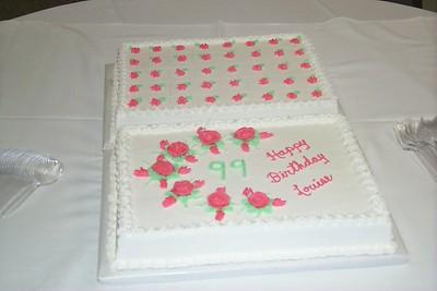 99th cake