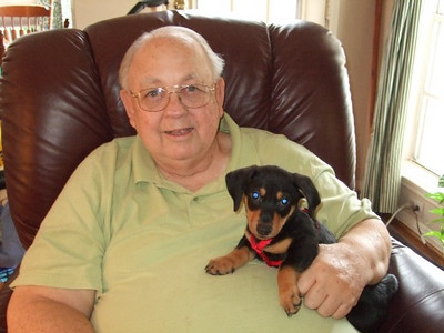 Buster & Family - April - 2011