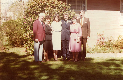 Butch and Cindy's Wedding - 1979