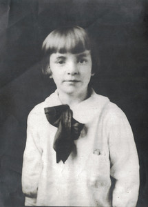 Grandma Ruth 1st or 2nd Grade at Blessed Sacrament School