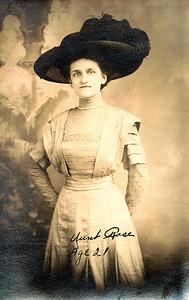 Aunt Rose (Gardner) Feiden -