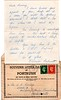 C B Fisher Portrush letter card from Eleanor Burnett 19410124