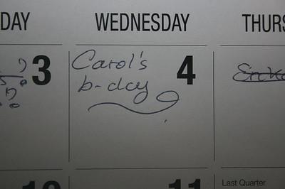 CAROLINE'S 51ST BIRTHDAY • 02.04.15