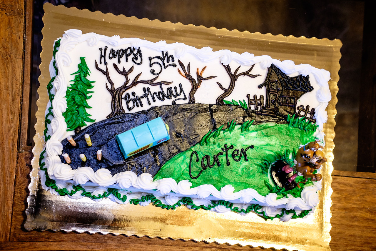 CARTER'S 5TH BIRTHDAY-PARTY AT THE WELL'S RANCH IN GRAHAM, TEXAS