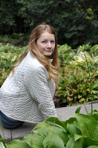 Georgia in garden