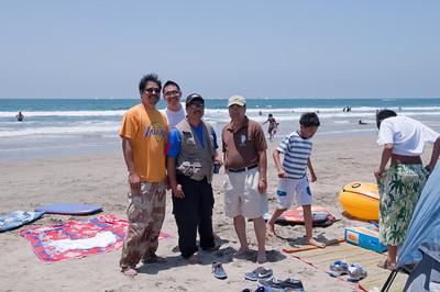 CJ B-DAY AT NEWPORT BEACH