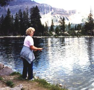 Aug 1989 - Carole Fishing