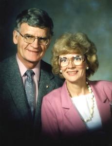 May 1988 - John and Carole