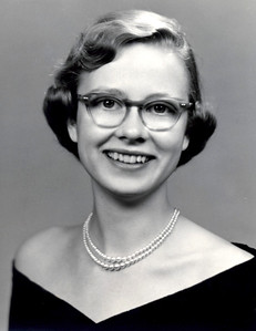 Sept 1954 - Carole Senior Yearbook