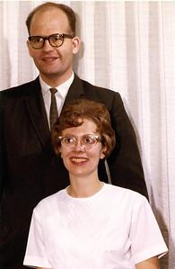 Dec 1963 - John and Carole