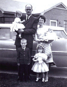 Easter 1963 - We are Six