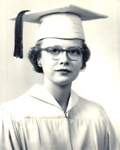 Jun 1955 - Carole's High School Graduation