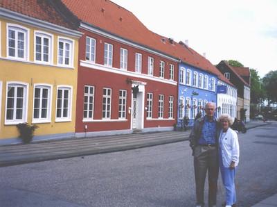 May 1995 - John & Carole in Denmark