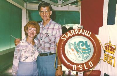 July 1982 - Twenty Fifth Anniversary-Caribbean Cruise