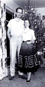 Dec 1957 - First Christmas