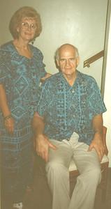 Nov 1996 - Carole & John in Samoa