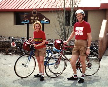 Apr 1983 - Carole & John Bicycling