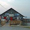 COLE'S POINT TAVERN: One hazard is - don't get drunk and fall in the water.