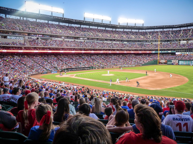 TEXAS RANGERS vs CLEVELAND INDIANS - JUNE 11, 2013<br /> ARLINGTON, TEXAS