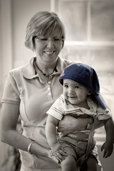 AUNT TARA AND SETH - JULY 2010