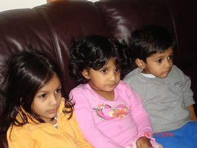 With Anjali akka and Arjun