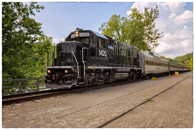 CVNP Train Ride