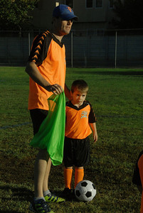Caden's First Soccer Game
