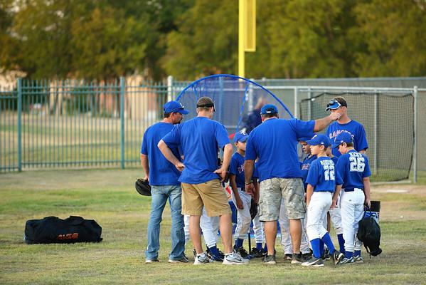 Cade's baseball game - 9 September 2011