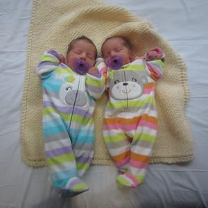 Caitlin's and Bridget's Birth