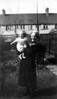 Nanty (Charlotte) Calder with grandson Michael aged 7 months