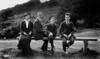 Nanty (Charlotte) Calder, William J. Calder, Geoffrey Calder and Arthur (Bran)